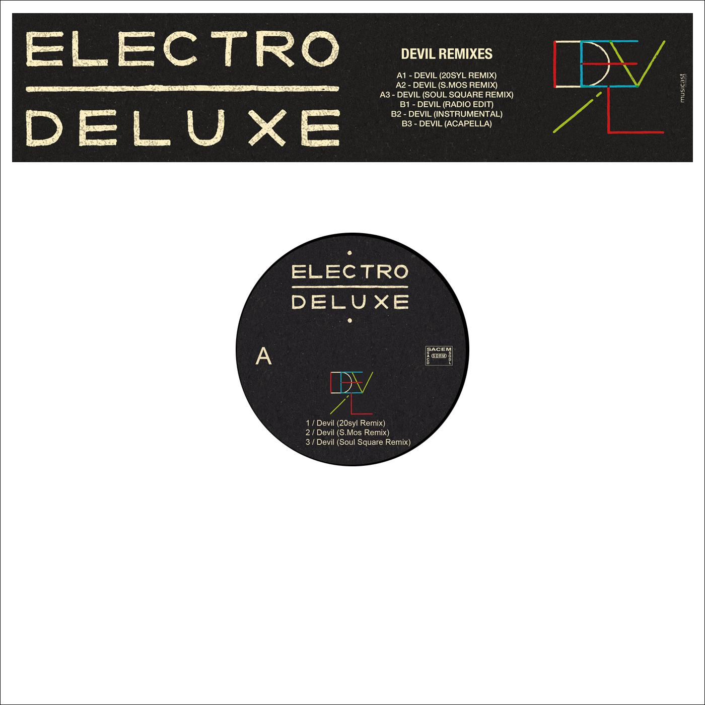 """Maxi vinyl """"DEVIL"""""""