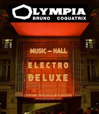 Concert à l'OLYMPIA le 16 octobre 2014