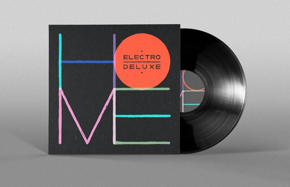 """""""HOME"""" en vinyl"""